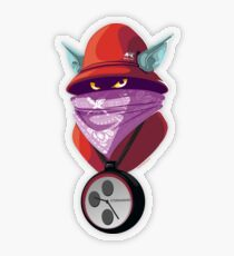 Orko Rappers of the Universe [He-Man] Transparent Sticker