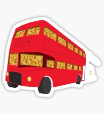 Universal Cereal Bus Sticker
