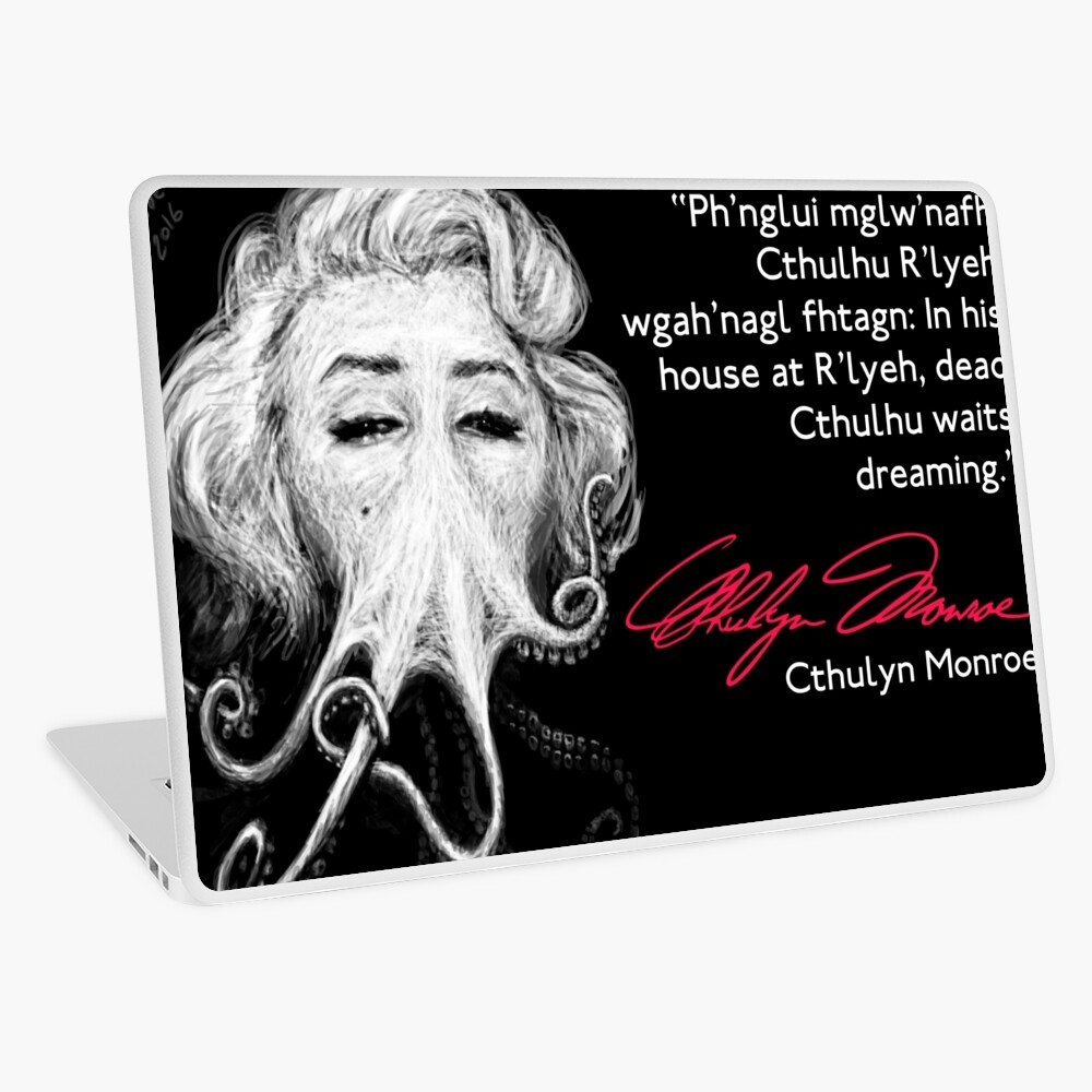 Inspirational Quote Laptop Skin