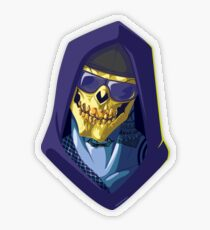 Skeletor - Rappers of the Universes [Heman] Transparent Sticker