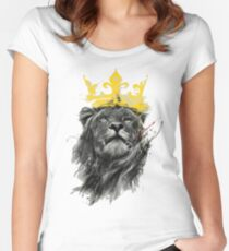 King of the Jungle Women's Fitted Scoop T-Shirt