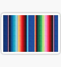 Colorful Mexican Poncho Background Sticker