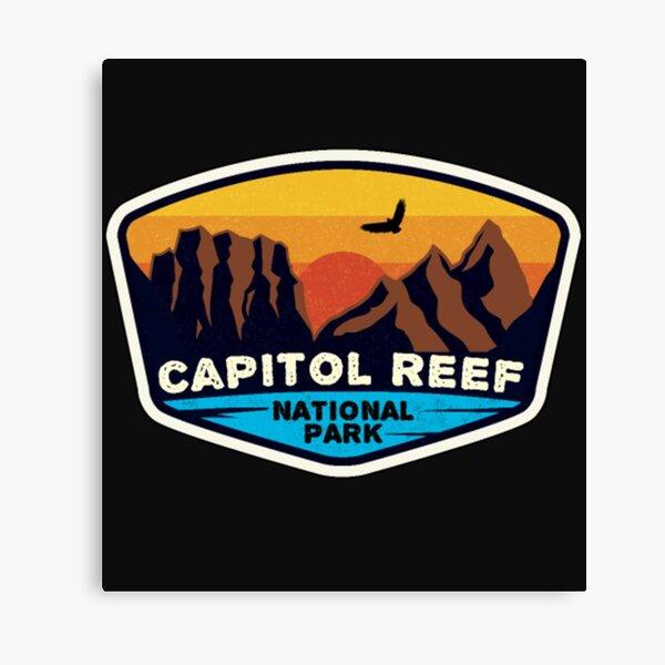 Capitol Reef National Park Mountains Utah T Shirt  Canvas Print