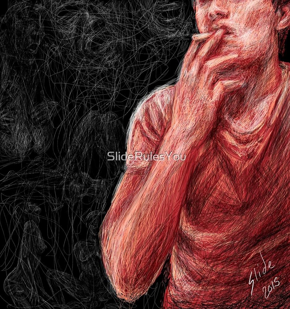 Smoking Man by SlideRulesYou