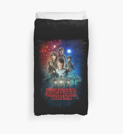 Stranger Things Duvet Covers Redbubble