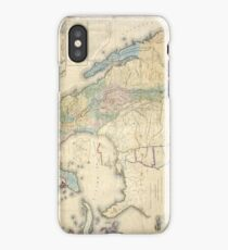 Vintage Map of Mexico (1847) iPhone Case