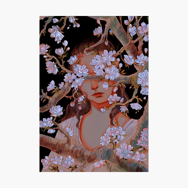 Reylo - Cherry Blossom 1 Photographic Print