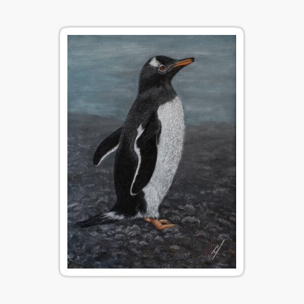 Bam-Bam the Gentoo Penguin Sticker
