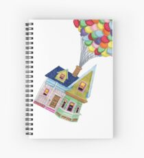 UP HOUSE Spiral Notebook