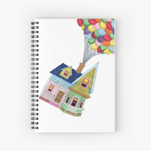 UP HOUSE Spiral Notebook