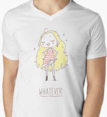 Whatever Mens V-Neck T-Shirt