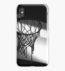 Basketball Hoop Silhouette  iPhone Case