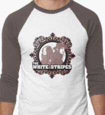 The White Stripes Men's Baseball ¾ T-Shirt
