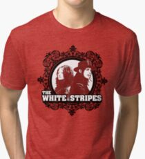 The White Stripes Tri-blend T-Shirt