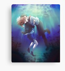 Xfiles - Underwater  Canvas Print