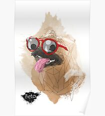 Pug Swagger Poster