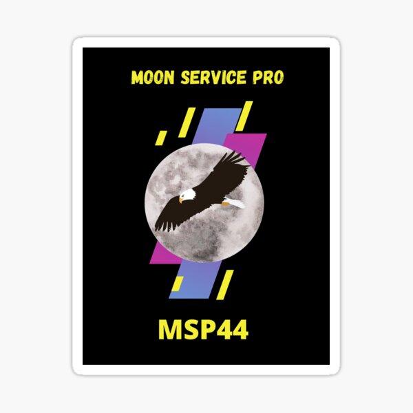 Moon pro service Sticker