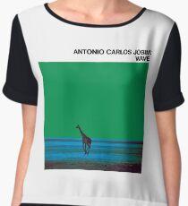 Antonio Carlos Jobim - Wave Chiffon Top
