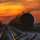 Sunrise Rail by IanMcGregor