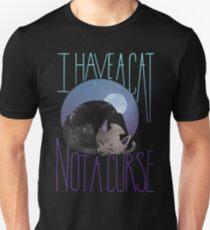 Black Cat Watercolor T-Shirt