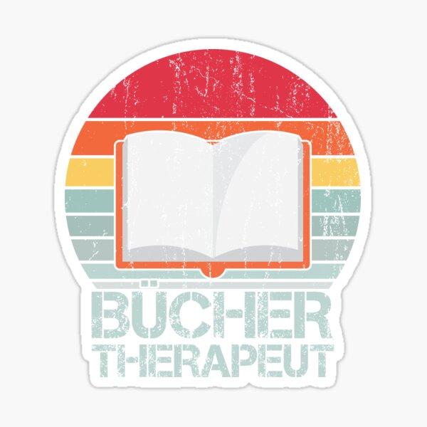 BÜCHER THERAPEUT Sticker