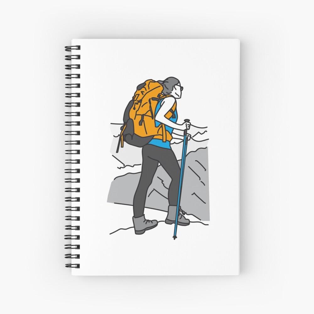 Para amantes de la montaña Cuaderno de espiral
