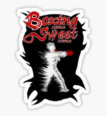 Boxing Sweet science Sticker