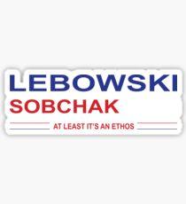 Lebowski Sobchak 2016 Sticker