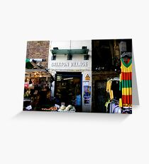 Brixton Village Entrance Greeting Card