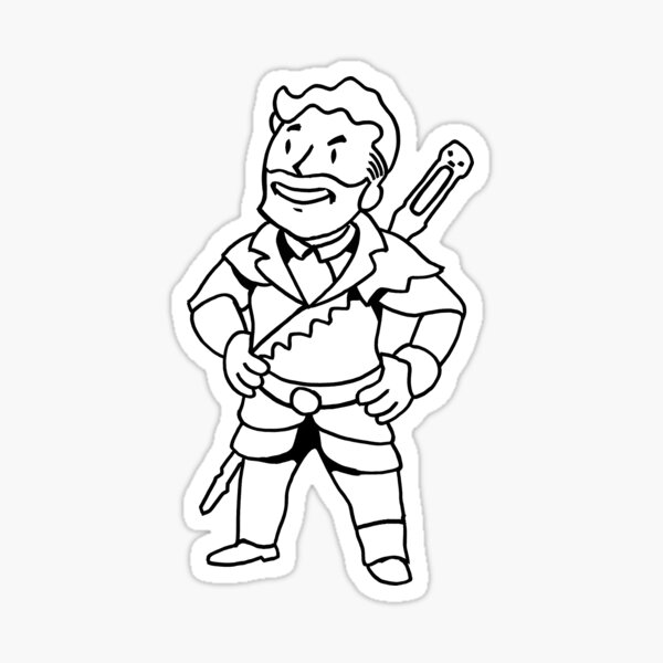 Lord of the Never-There Sticker