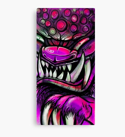 Graffiti Guardian Canvas Print