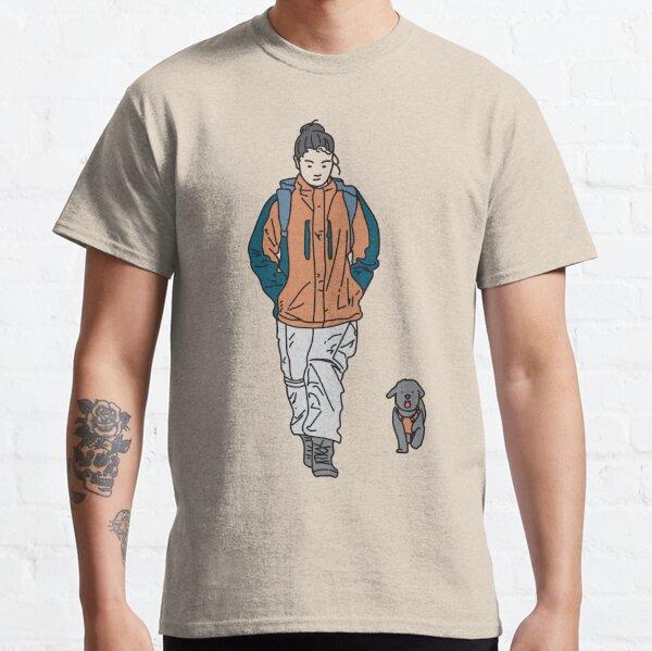 Te seguiría hasta el fin del mundo Camiseta clásica