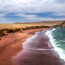 Red beach peru by Chris  Staring