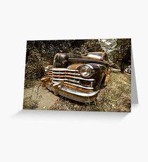 1948 Cadillac Limo Greeting Card