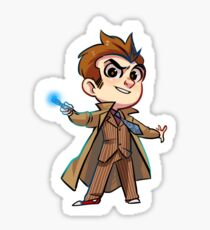 10th Doctor Sticker