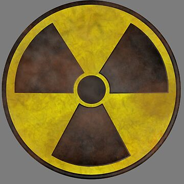 Radioactive Fallout Symbol - Geek Rusty by AMagicalJourney