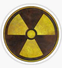 Radioactive Fallout Symbol - Nerd Science Sticker