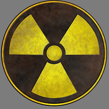 Radioactive Fallout Symbol - Geek Science by AMagicalJourney