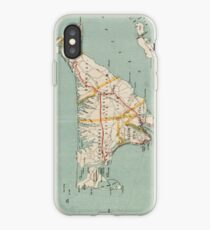 Vintage Map of Martha's Vineyard (1917) iPhone Case