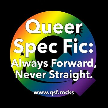 QSF Forward Logo - Black by queerscifi