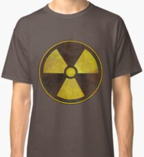 Radioactive Fallout Symbol - Nerd Science Classic T-Shirt