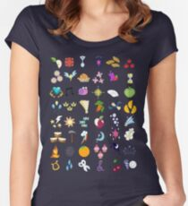 Cutie Marks Women's Fitted Scoop T-Shirt