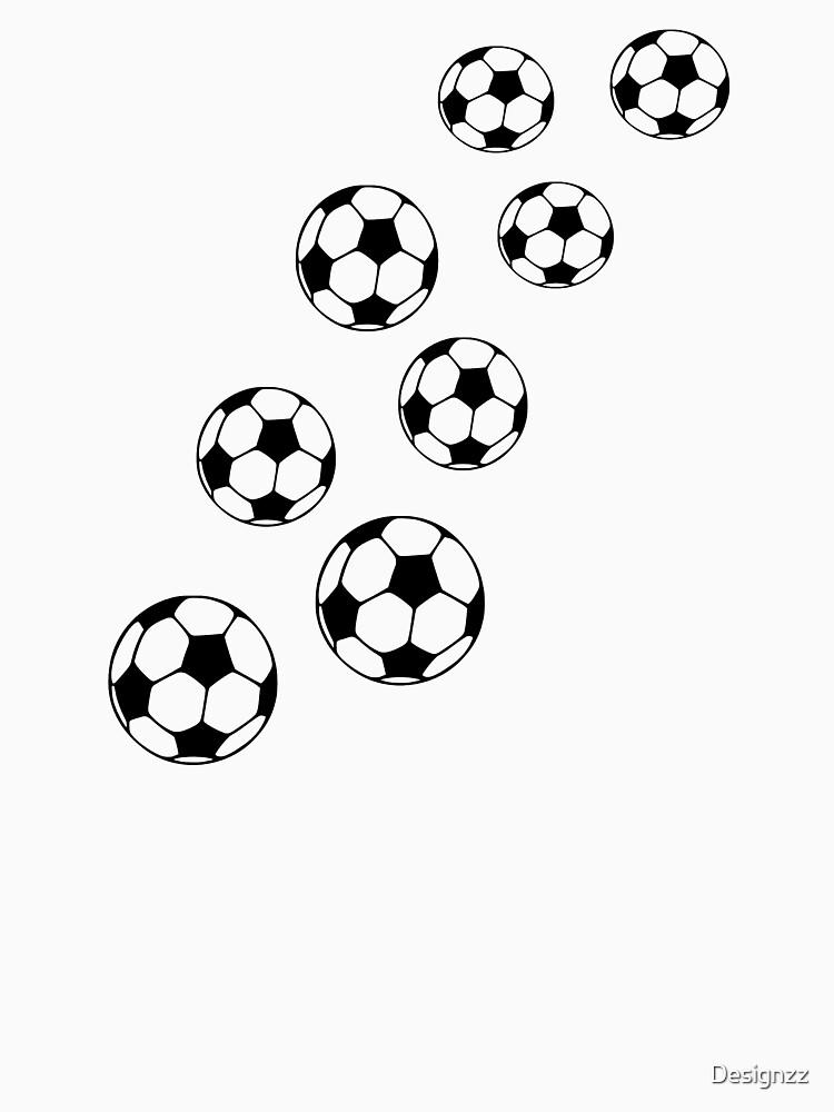 Balones de fútbol de Designzz