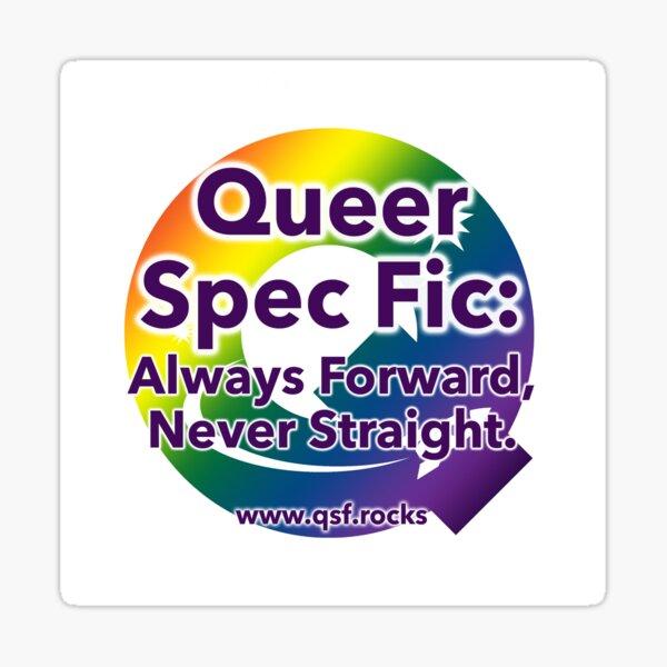 QSF Forward Logo - White Sticker