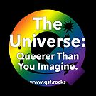 QSF Universe Logo - Black by queerscifi