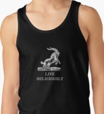 Live Deliciously Tank Top