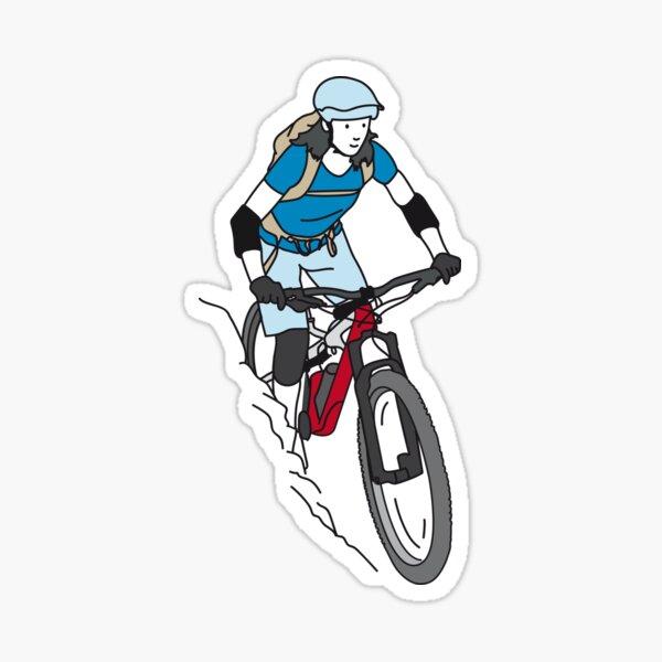 ¡Bici! Yeahhh Pegatina