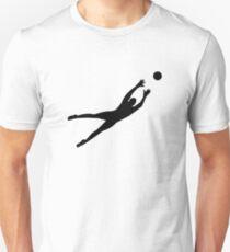 Soccer football goalkeeper Unisex T-Shirt