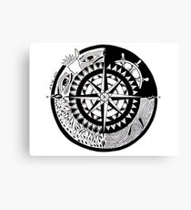 Compass Canvas Print
