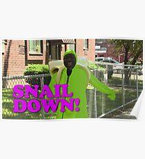 SNAIL DOWN Poster